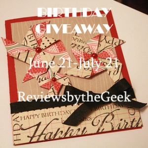 My B'day Giveaway